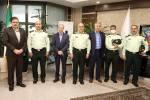 دیدار مدیرعامل بانک دی با فرمانده نیروی انتظامی تهران بزرگ