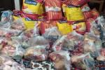 توزیع بستههای معیشتی بین خانوادههای نیازمند و دارای بیمار کرونا