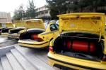 ۴۵۰۰ دستگاه خودرو عمومی در منطقه همدان گازسوز شد
