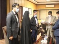 تجلیل فرماندار اسلامشهر از دو کارمند پذیرفته شده در دانشگاه تهران
