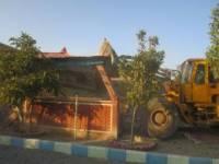 تخریب 139 مورد ساخت و ساز غیر مجاز در شهرستان رباط کریم