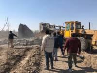 آزادسازی 8 هکتار از اراضی کشاورزی روستای حکیم آباد در شهرستان رباط کریم