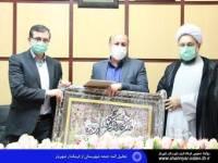 تجلیل ائمه جمعه شهرستان از فرماندار شهریار