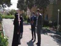 معاون اجتماعی بهزیستی استان از بهزیستی ملارد بازدید کرد
