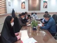 در واپسین روزهای باقی مانده شهریور 1400 / جلسه هماهنگی و برنامه ریزی آموزش وپرورش رباط کریم برگزارشد