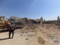 تخریب 256 مورد تغییر کاربری غیرمجاز اراضی کشاورزی در شهرستان رباط کریم