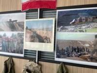 برگزاری نمایشگاه دفاع مقدس در اداره بهزیستی شهرستان ملارد