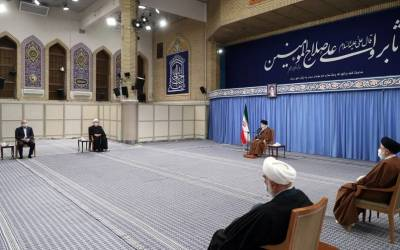 Iran - s Supreme Leader attends High Economic Council - s coordination meeting