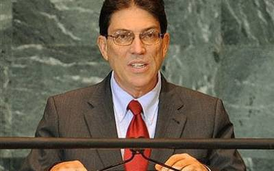 Cuban FM: Havana opposes all forms of terrorism
