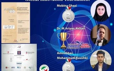 Iran's Ghazi wins 2 medals at World Innovation Tournament