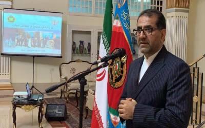 Iranian envoy: Iranian Army, symbol of patriotism, national might